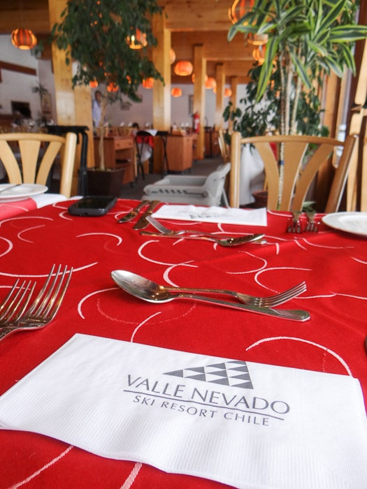 restaurante Don Giovanni Valle Nevado