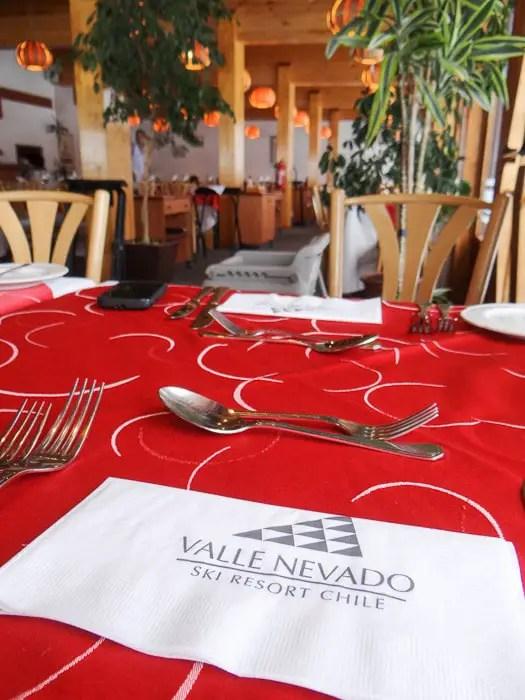 restaurante Don Giovanni Valle Nevado
