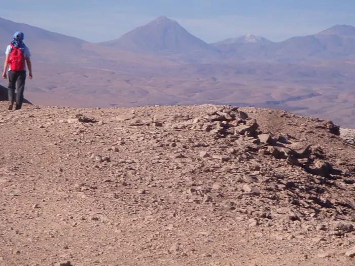 Caminhada nas cornisas do Vale da Morte