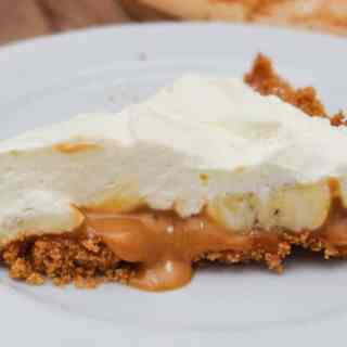 Receita de Torta de Banana e Doce de Leite (Banoffee Pie)