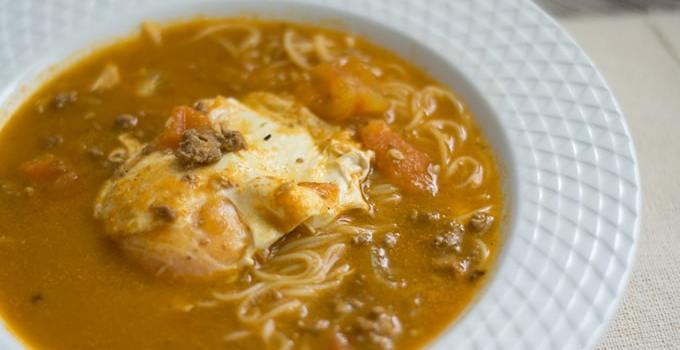 Sopa Criolla Peruana