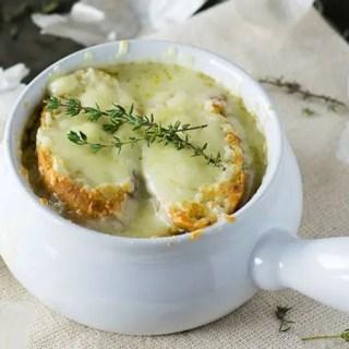 Receita: Sopa de Cebola Francesa