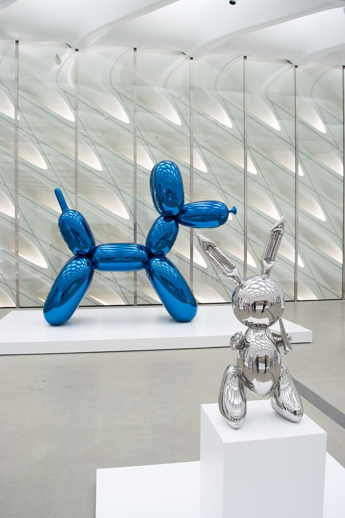 Ballon Dog (blue) e Rabitt - Jeff Koons
