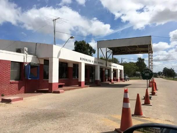 Posto de Imigração em Rio Branco, Uruguai