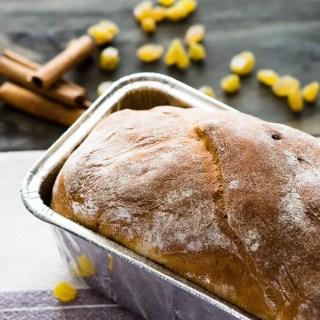Receita de Pão de Canela e Passas