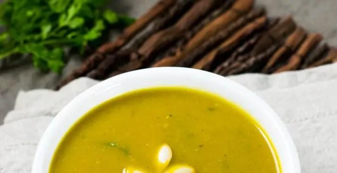 Sopa de Abóbora ao Estilo Tailandês
