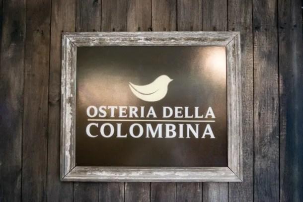 Osteria Dela Colombina Garibaldi