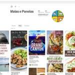 Malas e Panelas em destaque no Pinterest