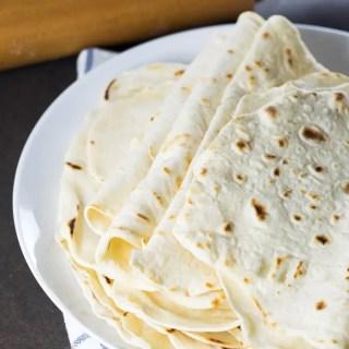 Receita de Tortillas de Farinha