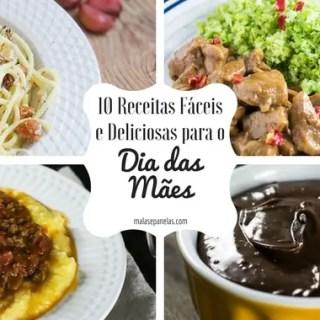 10 Receitas Fáceis e Deliciosas para o Almoço do Dia das Mães