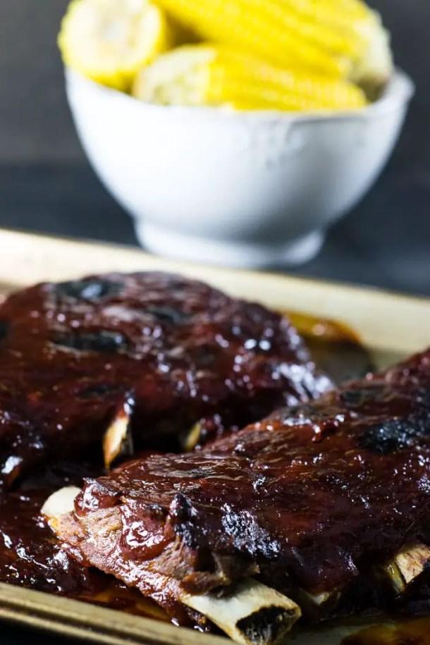 Costelinha com molho barbecue | Malas e Panelas