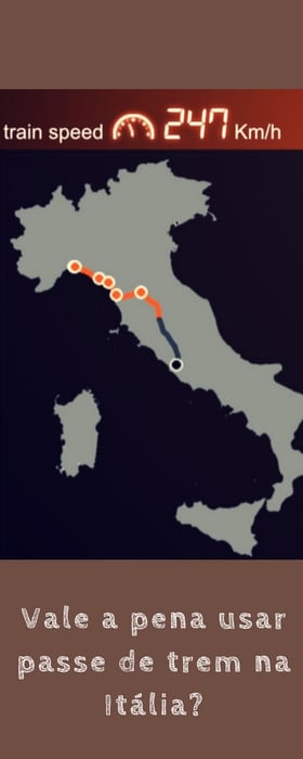 Vale a pena usar passe de trem na Itália? | Malas e Panelas