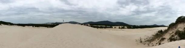 Passeio nas dunas do Costão do Santinho