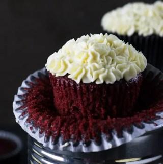 Receita fácil de Red Velvet cupcakes