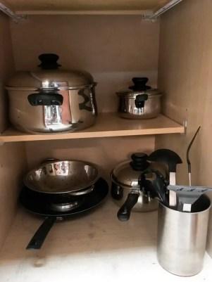 utensílios de cozinha no Lake Buena Vista Resort Village and Spa em Orlando