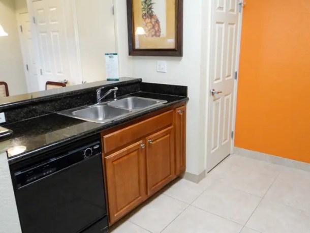 Cozinha completa Lake Buena Vista Resort Village and Spa em Orlando