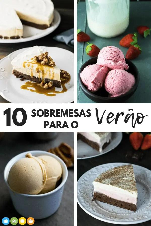 10 Sobremesas para o Verão | Malas e Panelas