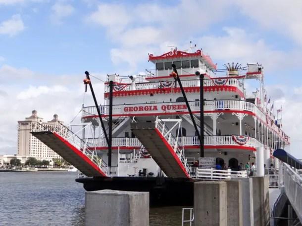 Barco Gorgia Queen em Savannah