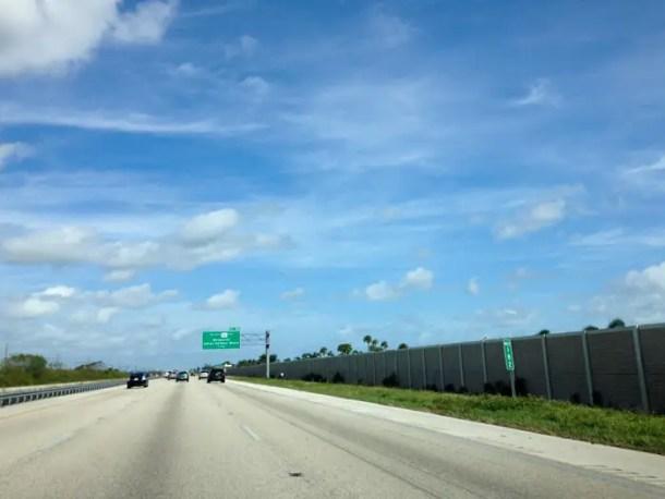 De Miami a Orlando sem pegágio