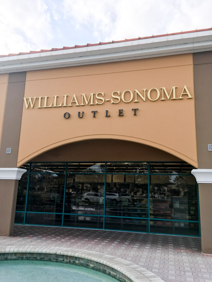 Outlet Williams Sonoma em Vero Beach