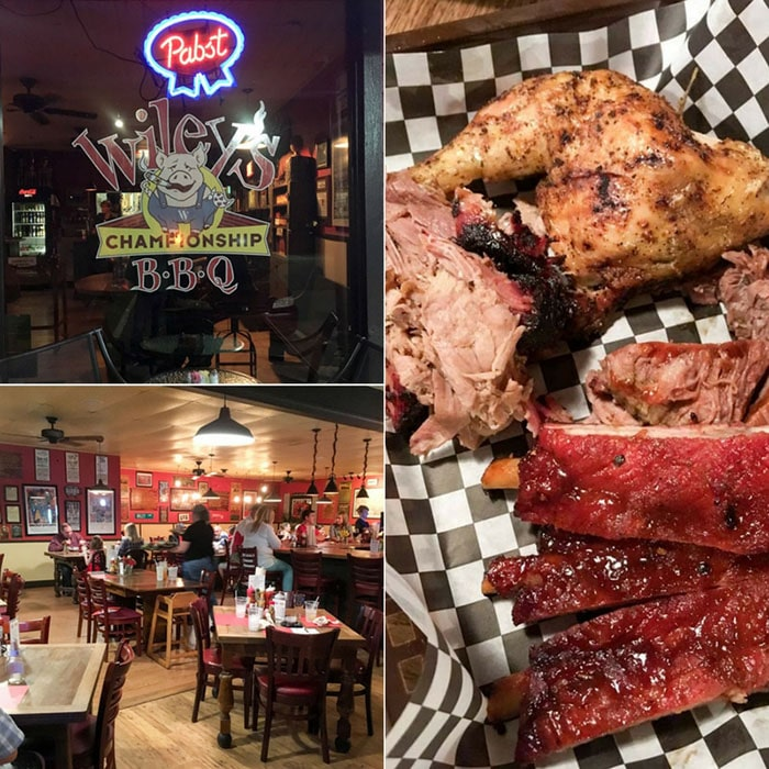 Willy's BBQ - melhor barbecue de Savannah