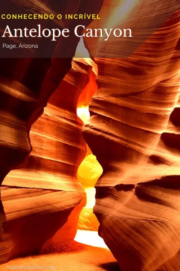 Conhecendo o incrível Antelope Canyon em Page, Arizona