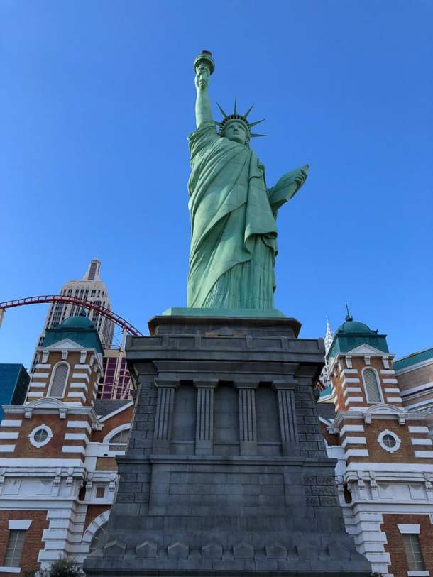 Estátua da Liberdade em Las Vegas