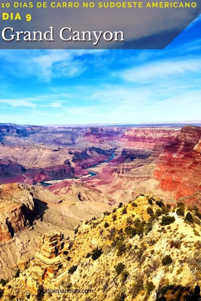 Viagem de carro pelo sudoeste americano - Grand Canyon