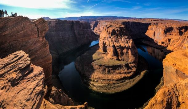 Horseshoe Bend, na chegada a Page, Arizona