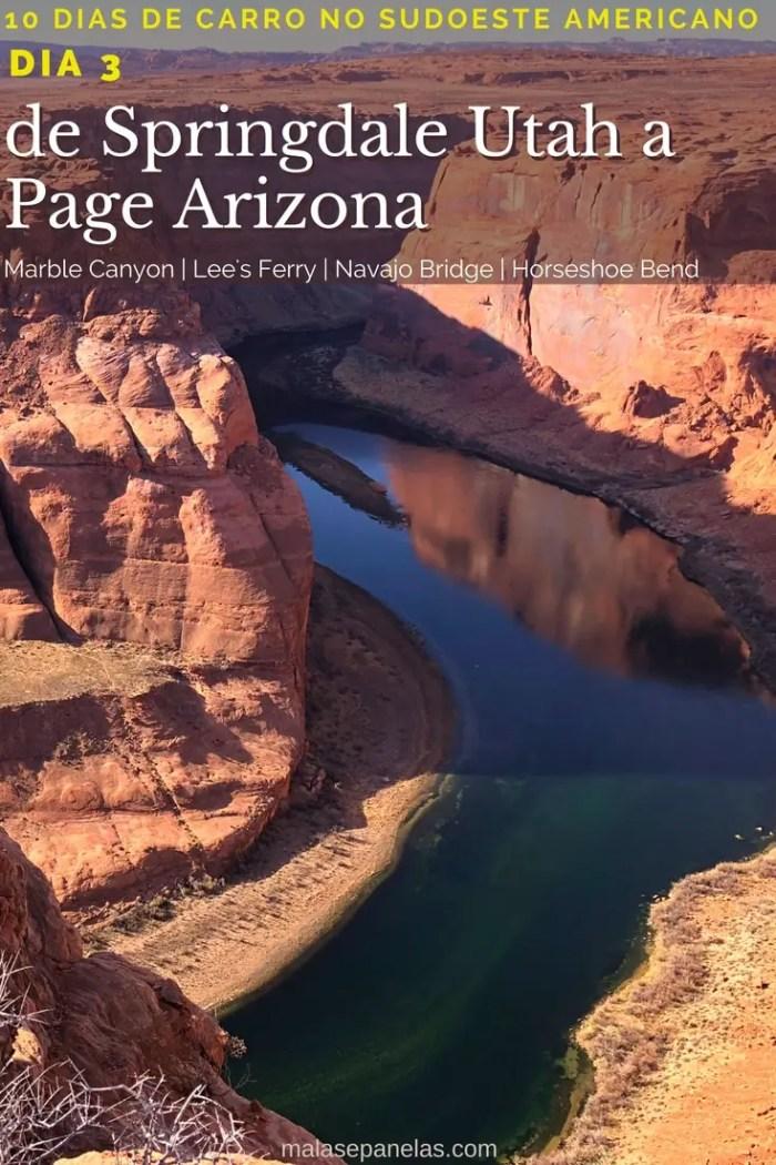 10 dias no sudoeste americano | de Springdale, Utah a Page, Arizona