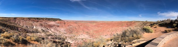 The Painted Desert Panorama