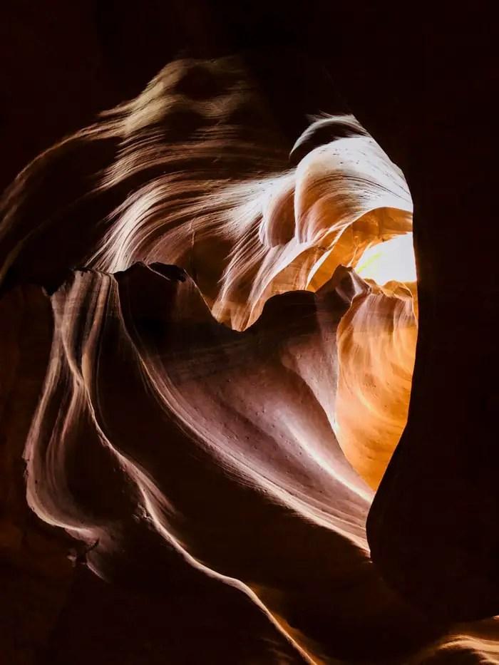 O Coração do Antelope Canyon