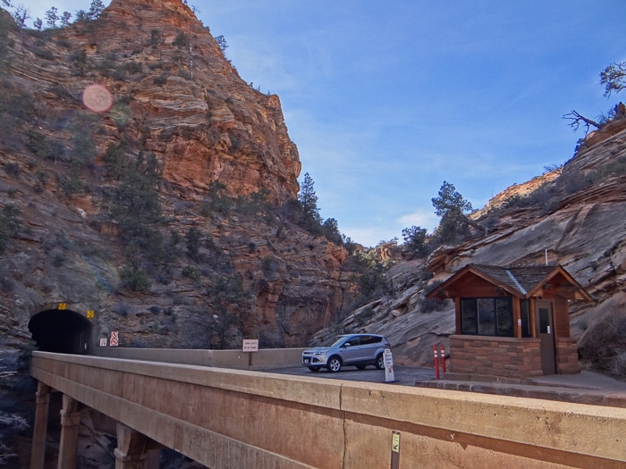 Estacionamento da Canyon Overlook Trail