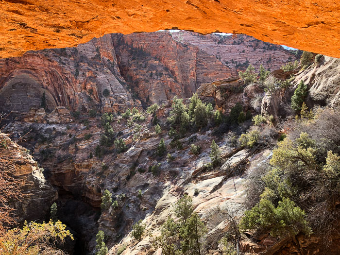 Zion National Park - Trilha Canyon Overlook