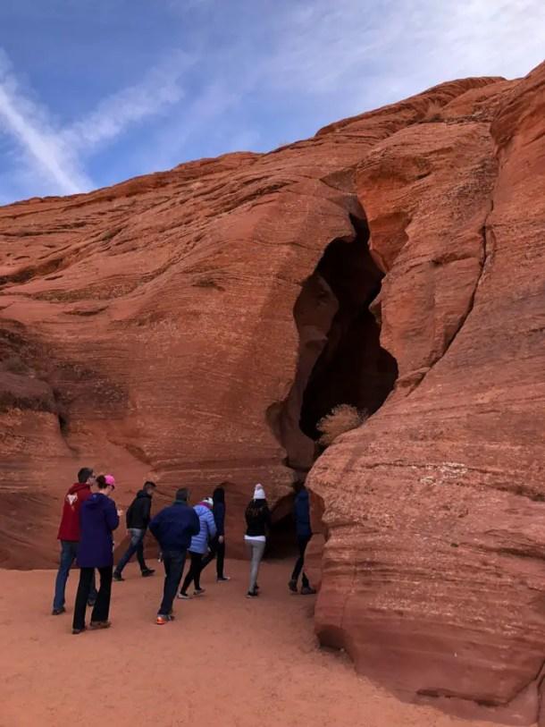 """Upper Antelope Canyon porque ele é """"para cima"""""""
