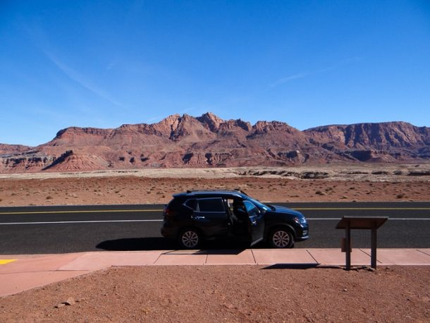 Carro alugado nos Estados Unidos