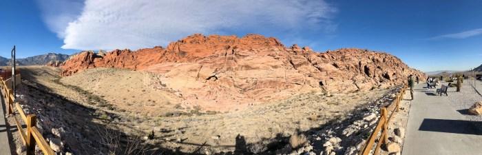 Panorâmica do Red Rock CanyonPanorâmica do Red Rock Canyon