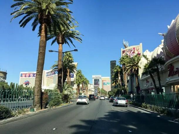 A Strip em Las Vegas