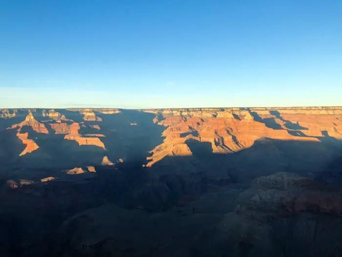 Pôr do Sol no Grand Canyon
