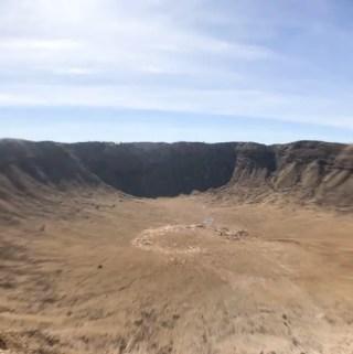 Meteor Crater - Cratera do Meteoro - Arizona