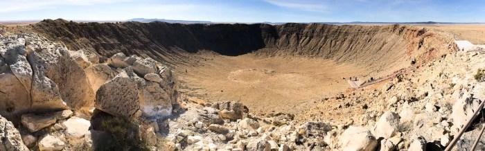 Panorama da Meteor Crater
