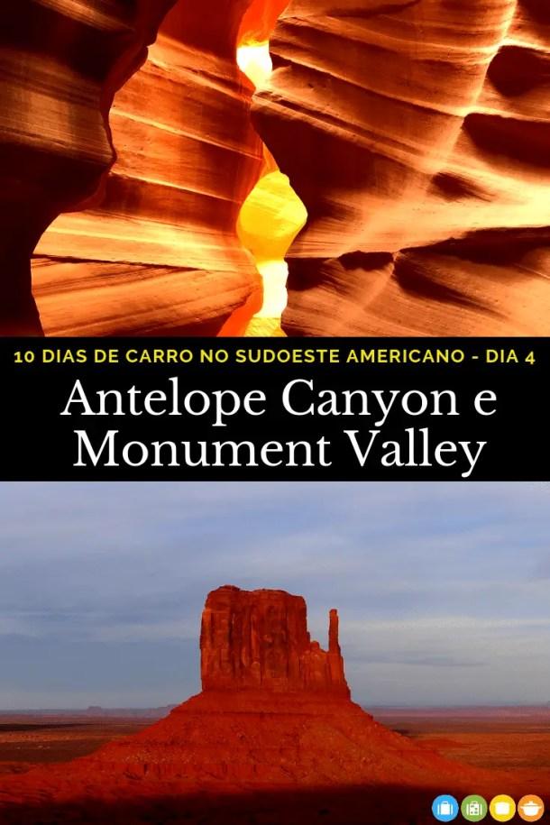 10 dias no sudoeste americano - Quarto dia: de Page, Arizona ao Monument Valley | Malas e Panelas