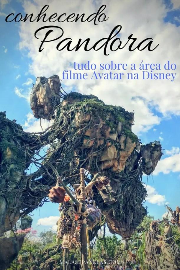 Pandora a área do filme Avatar no Animal Kingdom