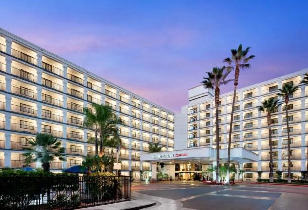 Hotel na Disney Califórnia