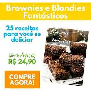 Receitas de Brownie para vender
