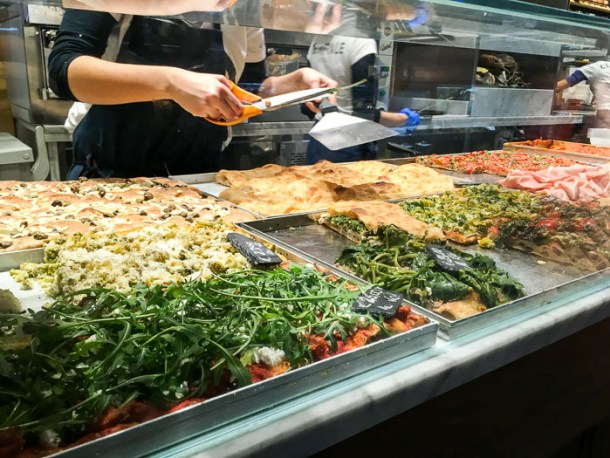 Where to eat in Rome on a budget - mercato centrale