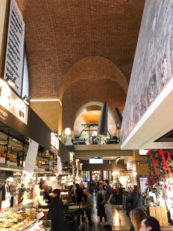 Where to eat in Rome on a budget - Mercato Centrale Roma Termini