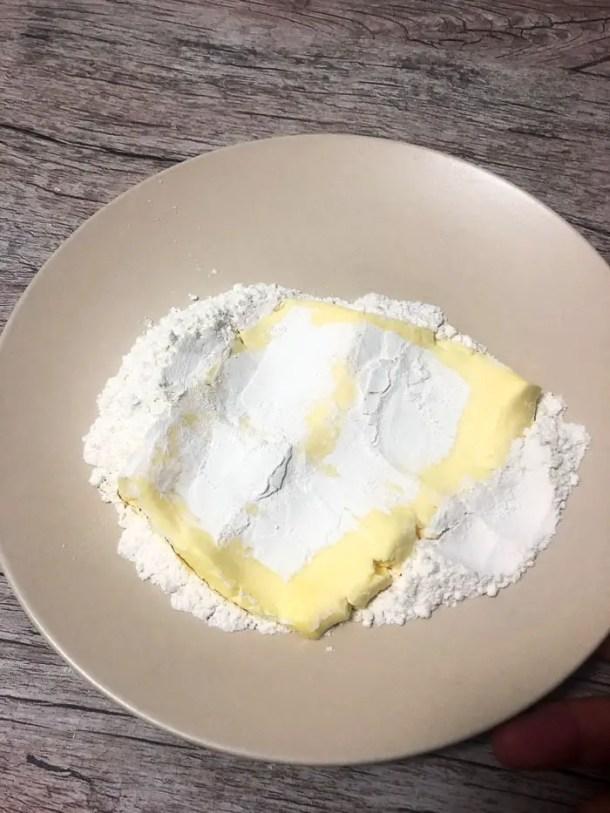 manteiga para fazer croissant