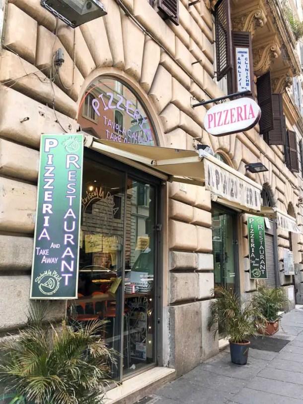 Onde comer em Roma - Pizza