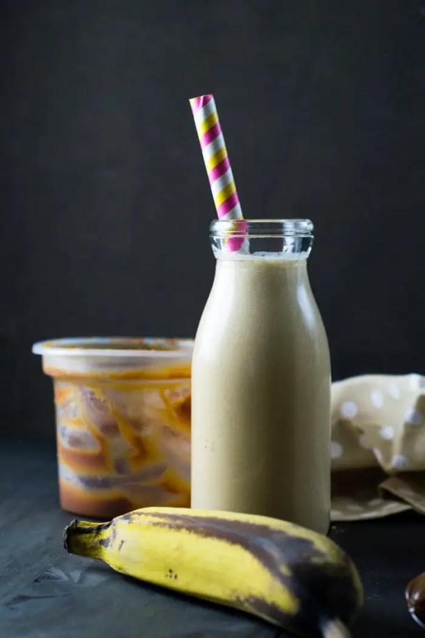 Smoothie de Banana e Doce de Leite | Malas e Panelas